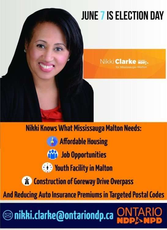 Nikki Clarke Election Day